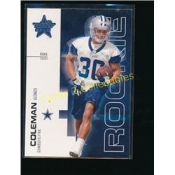 2007 Leaf Rookies and Stars #121 Alonzo Coleman RC