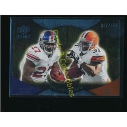 2009 Upper Deck Icons NFL Reflections Silver