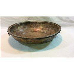 Large Copper Bowl 24x20x5