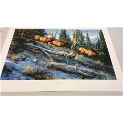 Over The Top By Leon Parson Signed And Numbered