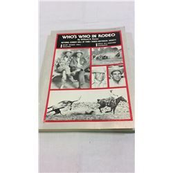 Whos Who In Rodeo 1st Ed
