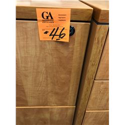 1 - 2 drawer newer lateral file cabinet w/matching end table plus Print