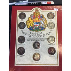 CANADIAN FIFTY CENT COLLECTION