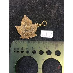 WWI CANADA GENERAL SERVICE COLLAR TAG