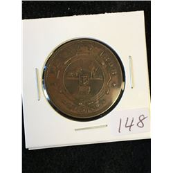 1898 SOUTH AFRICA 1 PENNY