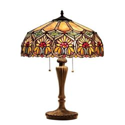Tiffany-style Flowers Table Lamp