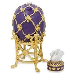 1906 The Swan Royal Russian Faberge Egg