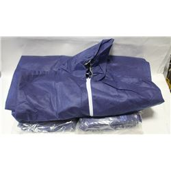 LOT OF 10 DISPOSABLE COVERALLS