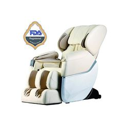 Best Massage Zero Gravity Massage Chair-Cream