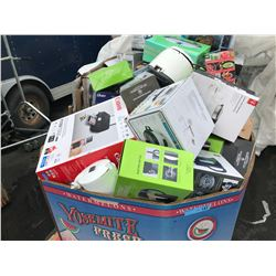 Skid Lot of Msc Small Home Appliances