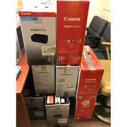 Large Lot of 20+ Canon Printers.