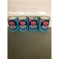 4 STP CANS, FULL, RADIATOR TREATMENT