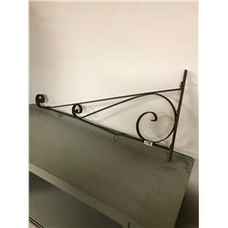 SIGN HOLDER, ORIGINAL WROUGHT IRON 36""
