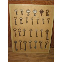 COLLECTION OLD SKELTON KEYS