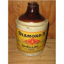 DIAMOND A SHELLAC 1/2 GAL JUG