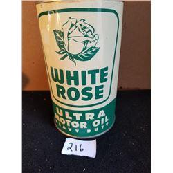 WHITE ROSE ULTRA MOTOR OIL QUART - MINTY