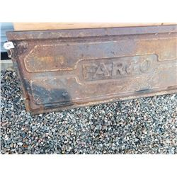 "1940s FARGO PICK UP TAILGATE 21""x50"""