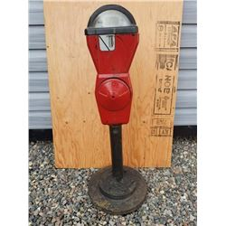 PARKING METER MOUNTED ON STAND - COIN BANK
