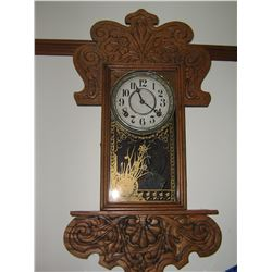 WALL GINGER BREAD CLOCK