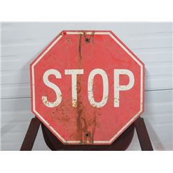 STOP SIGN RED 24X24