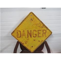 DANGER SIGN 24X24