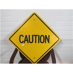CAUTION SIGN 24X24