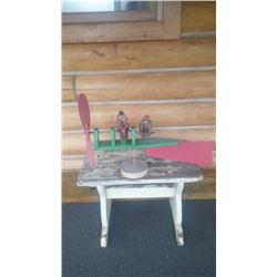 VINTATE FOLK ART ONE-OF-A-KIND WHIRLYGIG