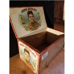 MRS. DOOLEY CIGAR BOX