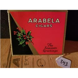 AREBELA 10 CIGARS BOX