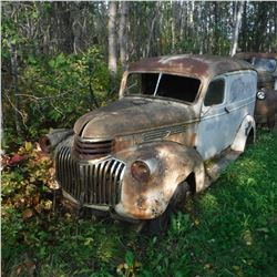 1941? CHEV ½TON PANEL TRUCK, NO POWER TRAIN