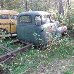 1949, 50, 51? CHEV 1 TON 5 WINDOW, INCOMPLETE