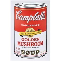 Andy Warhol, Campbell's Soup II: Golden Mushroom, Serigraph Sunday B Morning