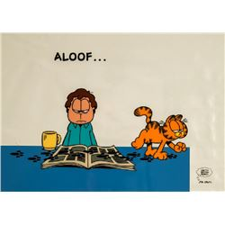 Jim Davis, Aloof... Garfield, Sericel