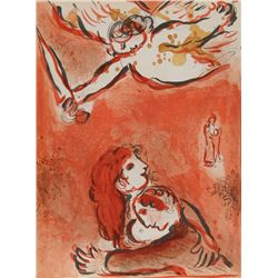 Marc Chagall, The Maid of Israel from Drawings for the Bible, Lithograph