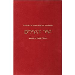 Franklin Feldman, The Song of Songs, Which is Solomon's, Portfolio of 25 Aquatints and 5 Hand-Colore