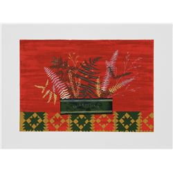 Mary Faulconer, Fall Ferns, Lithograph