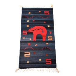 Zapotec Finely Woven Wool Rug