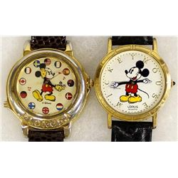 2 Mickey Mouse Watches