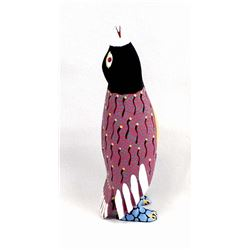 Mexican Oaxacan Alebrije Bird Carving by Cerrillo