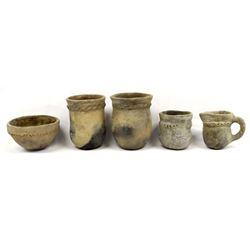 Vintage Collection of Navajo Utilitarian Pottery