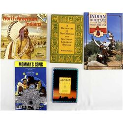 5 Books, Native American & Southwest Interest