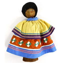 Native American Seminole Doll in Traditional Dress