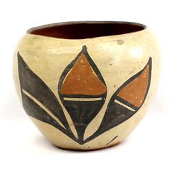 Vintage Santo Domingo Pottery Jar