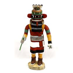 Hopi Carved Wood Kachina by Deloria Adams