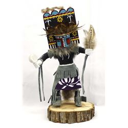 Acoma Carved Wood Kachina by Andy Juanico