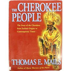 The Cherokee People by Thomas E. Mails, Softback