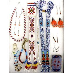 Collection of Plains Indian Beadwork