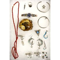 Collection of Southwestern New Mexico Jewelry