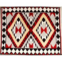 Brand New Anasazi Traders Wool Hand Knotted Rug