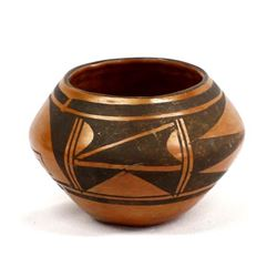 Vintage Native American Hopi Pottery Bowl